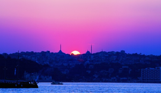 A view on the Bosphorus